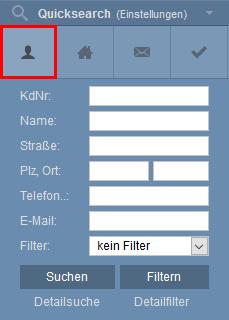 Symbol addresses in Quicksearch